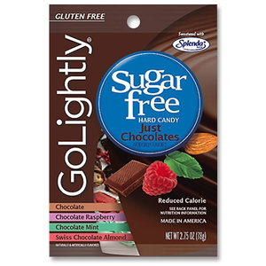 Redstone Foods GOLIGHTLY S/F PEG BAG - JUST CHOCOLATES