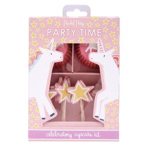 Packed Party Cupcake Kit - Unicorns