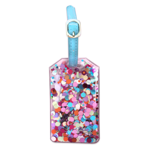 Packed Party Pack It Up Luggage Tags Multi Confetti