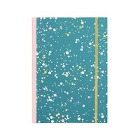 Talking Out of Turn NOTEBOOK - SPRUCE SPLATTER