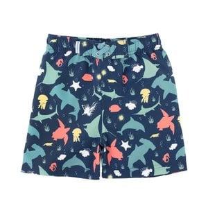 Ruffle Butts Under the Sea Swim Trunks