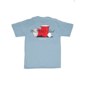 Properly Tied Rack 'Em SS Powder Blue (Mens)