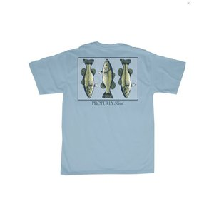 Properly Tied Triple Bass SS Powder Blue (Mens)