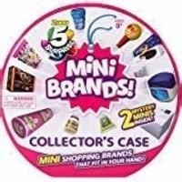Zoofy 5 Surprise Mini Brands Collectors Case