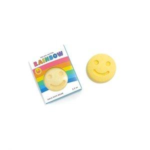 Feeling Smitten Rainbow Surprise - Happy Face Bath Bomb