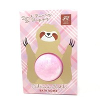 Feeling Smitten Don't Hurry Be Happy! Citrus Sloth Bath Bomb Bag