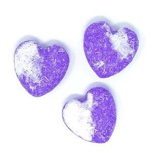 Feeling Smitten Lavender Vanilla Heart Shampoo + Conditioner Bar
