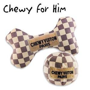 Haute Diggity Dog Drop Ship Bundle #16 - Keep Calm & Chewy Vuiton (Checker) [ONLINE ONLY]