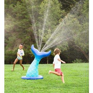 HearthSong Mermaid Tail Inflatable Sprinkler