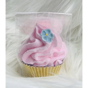 Feeling Smitten Mini Cupcake Bath Bomb - (Mint Cocoa)