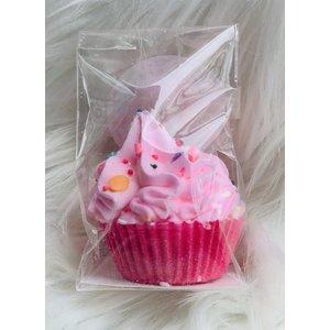 Feeling Smitten Mini Cupcake Bath Bomb - (Pink Bliss)