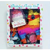 Feeling Smitten Pinata Birthday Party Box