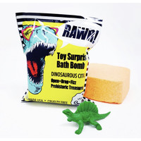 Feeling Smitten Dinosaur Citrus Surprise Bath Bomb