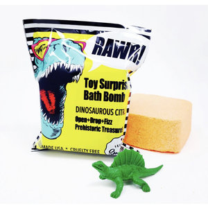 Feeling Smitten Dinosaur Citrus Surprise Bath Bomb