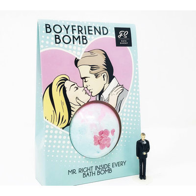 Feeling Smitten Boyfriend Bath Bomb - Boyfriend inside each one!