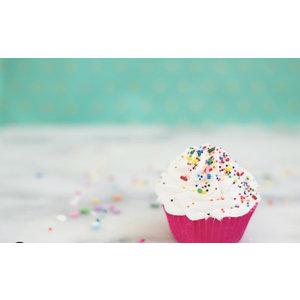 Feeling Smitten Mini Cupcake Bath Bomb - (Vanilla)