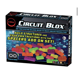 E-blox Circuit Blox Spacers 96 Piece Add-on Set [AVAILABLE ONLINE ONLY]