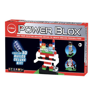 E-blox Power Blox-Builds Deluxe Set [AVAILABLE ONLINE ONLY]