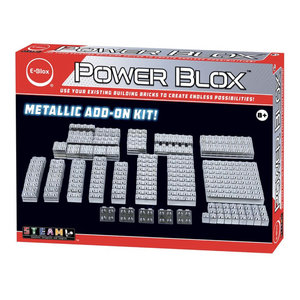 E-blox Power Blox- Metallic Add-on Set [AVAILABLE ONLINE ONLY]