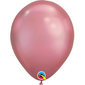 Balloons.com 11 Inch - Latex Balloons - Mauve Chrome (with helium)