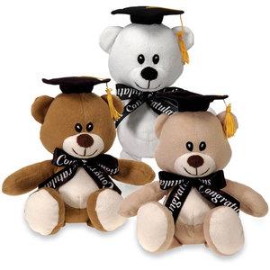 Balloons.com 9 Inch Graduation Bear Plush