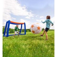 HearthSong Giant Inflatable Soccer Set