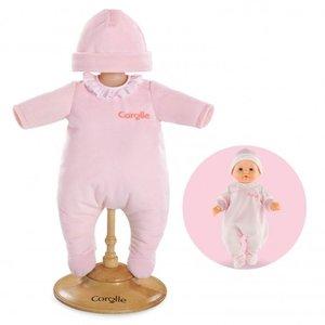 "Corolle 14"" Baby Doll Pajamas - Pink"