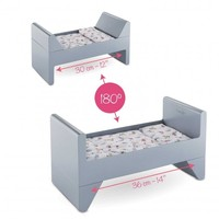 """Corolle Crib & Bed for 12"""" / 14"""" / 17"""" baby doll"""