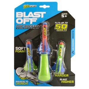 Ozwest Air Powered Pop Rocketz