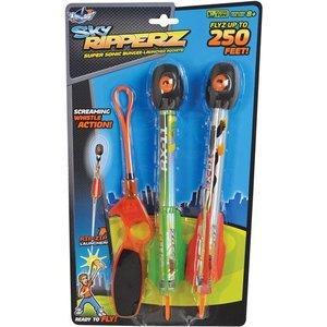 Ozwest Sky Ripperz- Super Sonic Bungee Launched Rockets