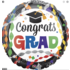 Balloons.com 28 Inch - Foil Balloon - Congrats Grad Party (with helium) (Item No. 34978)