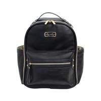 Itsy Ritzy Black Itzy Mini Diaper Bag Backpack -
