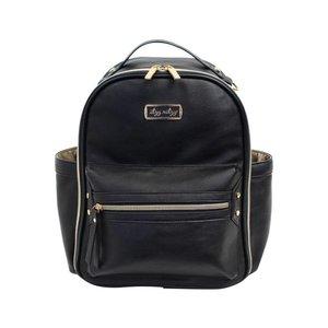 Itsy Ritzy Black Itzy Mini Diaper Bag Backpack -