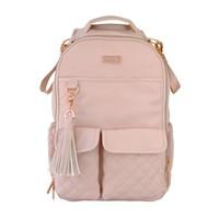 Itsy Ritzy Blush Crush Boss Diaper Bag Backpack -