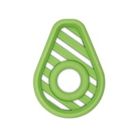 Itsy Ritzy Chew Crew Silicone Baby Teethers - Avocado