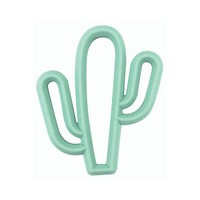 Itsy Ritzy Chew Crew Silicone Baby Teethers - Cactus