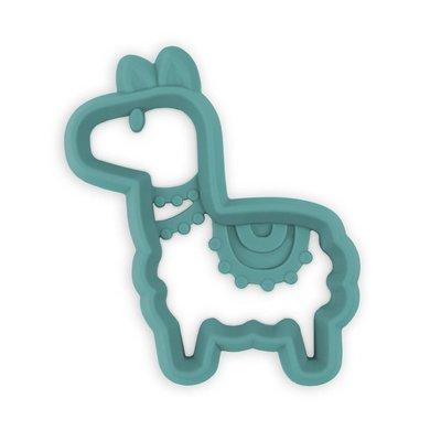 Itsy Ritzy Chew Crew Silicone Baby Teethers - Llama