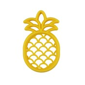 Itsy Ritzy Chew Crew Silicone Baby Teethers - Pineapple