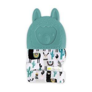 Itsy Ritzy Itzy Mitt™ Teething Mitts - Llama