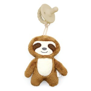Itsy Ritzy Sloth Sweetie Pal With Pacifier