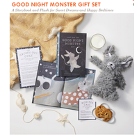 Compendium Good Night Monster Gift Set (Book + Plush Animal)