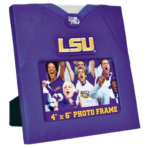 MasterPieces LSU Photo Frame (Real Jersey Material)