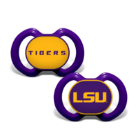 MasterPieces LSU Baby Pacifiers (2 pack)