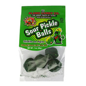 Redstone Foods Sour Pickle Balls (Peg Bag - Alamo Candy)