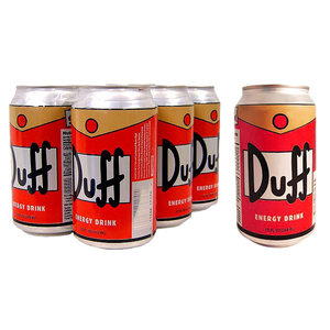 Redstone Foods Duff Energy Drink Can