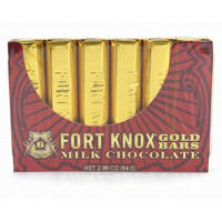 Redstone Foods Gold Bars Milk Chocolate (Fort Knox)