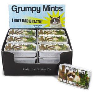 Redstone Foods Grumpy Cat Mints Tin - Had Fun Once (Sugar Free)