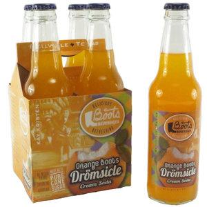 Redstone Foods Orange Boots Dreamsicle Soda