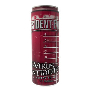 Redstone Foods Resident Evil T-Virus Antidote Energy Drink Can