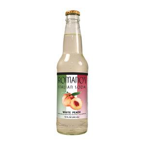 Redstone Foods Romanos Italian Soda - White Peach